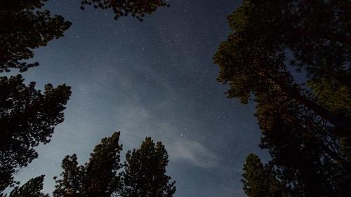 Nachthimmel Union Creek Campground