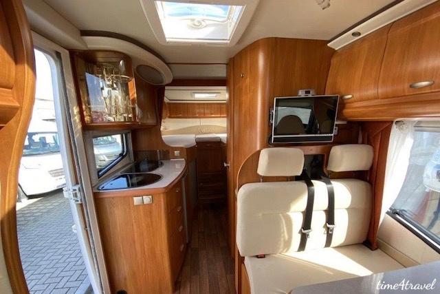 Hobby Van exclusive Innenraum hinten; Ford Transit