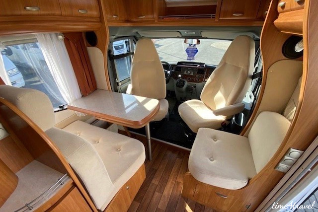 Hobby Van exclusive Innenraum Sitzgruppe; Ford Transit
